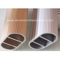 Quality Clothesline Pole Extruded Aluminum Tubing Anodized Surface For Wardrobe for sale