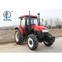Quality CIVL554/55HP/4 Wheel drive farm tractor  CIVL554 new 4x4 55hp drive tractor red color for sale