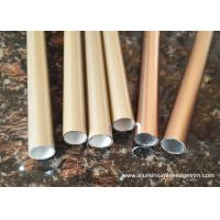 Quality T3 ~ TT8 20 x 20 Aluminium Oxide Round Tube With Golden and Copper Color for sale