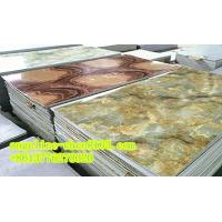 Quality PVC imitation marble sheet three roller calender laminating and extruder machine for sale
