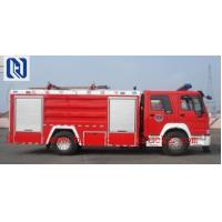 Quality SINOTRUK HOWO Fire Fighting Trucks , water tower fire truck 6x4 375hp Engine for sale
