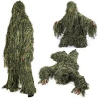 Quality Ground Blind Hunting Clothes Hunting Ghillie Suit Forest 3d Hunting Camo Clothing for sale