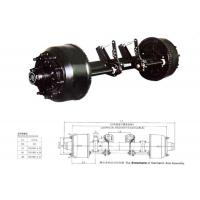 China Germany type rear axle for heavy duty trailer on sale