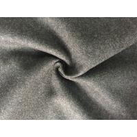 Quality 57/58 Inch Coat Weight Wool Fabric Woven Technics For Grement , Wool Flannel Cloth for sale