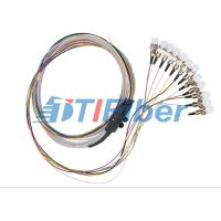 Quality Ribbon Single Mode Fiber Pigtails With FC Fiber Optic Connector for sale