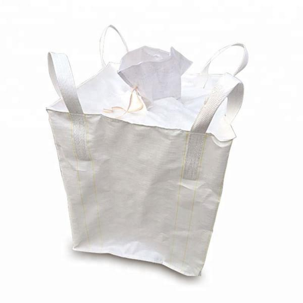 Buy Eco Friendly Material FIBC Bulk Bags 1000KG UV Treated For Chemical Powder at wholesale prices
