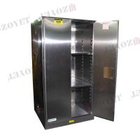 Quality Stainless Steel Industry Flammable Safety Cabinets 60 Gallon 227 Litre for sale