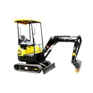 Quality 1.8 Ton Mini Hydraulic Crawler Excavator With 0.045cbm Bucket 19L Tank for sale
