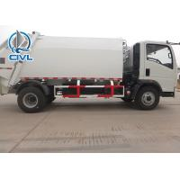 Quality 8m3 Road Sweeper Trash 4x2  Compactor Truck For Dust Removal Euro 2 Euro 3 garbage truck with compactor for sale