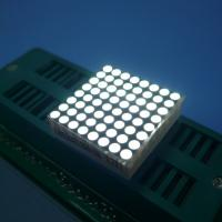 Buy cheap Indoor Dot Matrix Led Display 8X8 Stable Performance Energy Saving from wholesalers