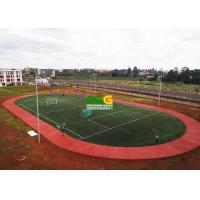 Buy cheap Sandwich PU System Running Track Construction Project Case In Kenya from wholesalers
