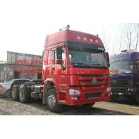 Quality New Type 371HP Prime Mover Truck 6*4 10tires with double sleepers and air conditioner in Cabin of HOWO7 for sale