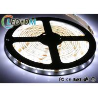 White Color SMD 5050 LED Strip Light , Flexible LED Strip Light With Adapter