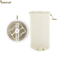 Quality 2 frame plastic manual honey processing extraction machine beekeeping honey extractor for sale