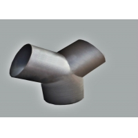 Quality Butted Seamless A234 Wpb Y Type Joint Weld Equal Tee for sale