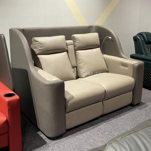 Quality Contemporary Home Cinema System With Couple VIP Seating With Colorful Design for sale