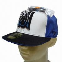 Quality Flat Peak Cap, Customized Designs are Accepted for sale