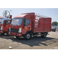 Quality Sinotruk 3-5 Tons HOWO Light Duty Commercial Trucks 6 Tires Van Cargo Truck 3-6ton load capacity for sale