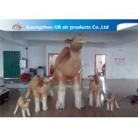 China Customized Cartoon Shape Inflatable Camel Animal Model For Event Party on sale