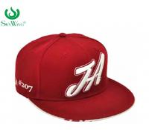 Quality 3D Embroidery Lightweight Flat Peak Golf Caps Soft  Visor Unique Design for sale