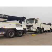Quality Double Rear Axles Wrecker Tow Truck , Towing 16 Ton 6 x 4 Drving for sale