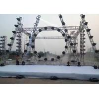 Buy cheap Easy Instal / Demount Aluminum Stage Truss Customized 12m Span Stage Background from wholesalers