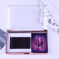 Quality Gradual Purple Blooming Eyelash Individual Extensions 0.07mm Thickness Hand Made for sale