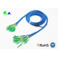 Quality Single Mode Fiber Optic Cable Patch Cord Customized LC APC - LC APC 24 Fibres Staggered for sale