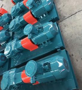 China Drilling Fluids Tank System Explosion Proof Oilfield Mud Agitator on sale