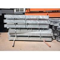 Quality Customized shop drawing hot dip galvanized structural steel members for sale