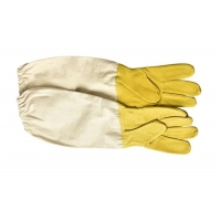 Quality Economic Soft And Comfortable Sheepskin Protective Beekeeping Gloves Against Bees for sale