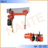 Quality 24v - 48v Manual Electric Chain Hoist , Limit Switch Devices for sale