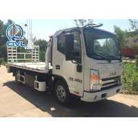 Quality 120HP Engine Lifting 5000KG / 5T Light Flatbed Tow Truck For Car Accident Light Wrecker Tow Truck for sale