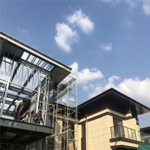 Buy cheap Q235B Fiberglass Steel Frame Prefab Metal Building Homes from wholesalers