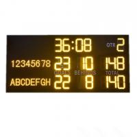 Buy cheap Light And Portable AFL Electronic Scoreboard With Aluminum Alloy Frame from wholesalers