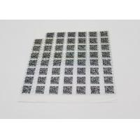 Quality Anti - Counterfeiting Laser Sticker Paper Heat Sensitive With Gradient Effect for sale