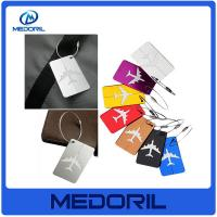 Buy cheap Wholesale aluminium alloy luggage tag custom design cheap travel luggage tag from wholesalers