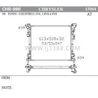 Quality Direct Flow CHRYSLER Car Radiator For Town / Country 09 Dpi 13064 OEM 4677755AA for sale