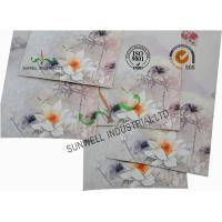 Quality Offset Paper Custom Printed Business Envelopes Custom Size Gold Foil Stamping for sale