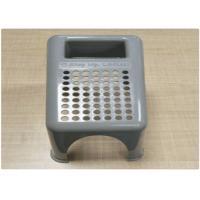 Quality Household / Industrial Plastic Products Grey Molded Plastic Stool PP Material for sale
