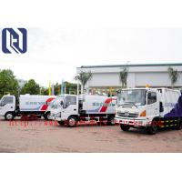 Quality EuroIII 4x2 HOWO brand Light Hork Arm Garbage Truck Collection 5M3 Q235 Material 190HP for sale