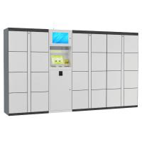 Quality 15 inch Touch Screen Smart Luggage Rental Luggage Lockers for Train Station / Library / Market for sale