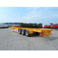 Quality 40 Feet Flatbed Semi Trailer With 3 Axles, Semi Trailer Truck from China for sale