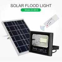 Quality High Efficiency Waterproof 200W Rechargeable Solar Led Flood Light for sale