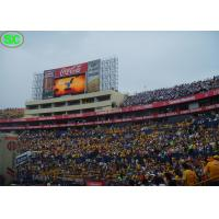 Quality RGB outdoor electronic led display boards, High definition for Football Stadium for sale