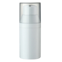 Quality 30ml 50ml 75ml Snap On White Airless Pump Bottle for sale