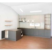 Buy cheap Modern Kitchen Cabinet Customized High Cabinet Kitchen Island Cabinet with Gray from wholesalers