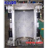 Quality 1 Cavity Aluminum Alloy Extrusion Blow Mold For 25L PE Jerry Can for sale