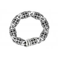 Quality Clover Stainless Steel Bangle Bracelets , Enameled Stainless Steel Magnetic Bracelets for sale