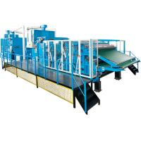 Buy cheap Fiber Processing / Nonwoven Cotton Carding Machine High Performance Dust from wholesalers